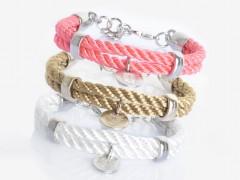 "Knotenfreies Bijoux Armband ""Rhodium"""